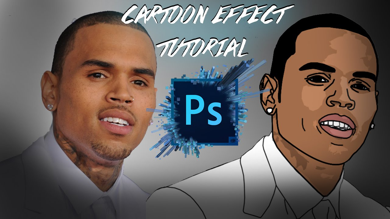 How To Make A Cartoon In Photoshop Cc 2016 Easy 2016 Update Youtube