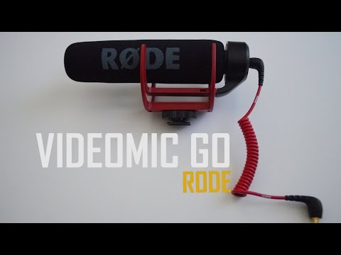 Rode Videomic GO unboxing and sound test