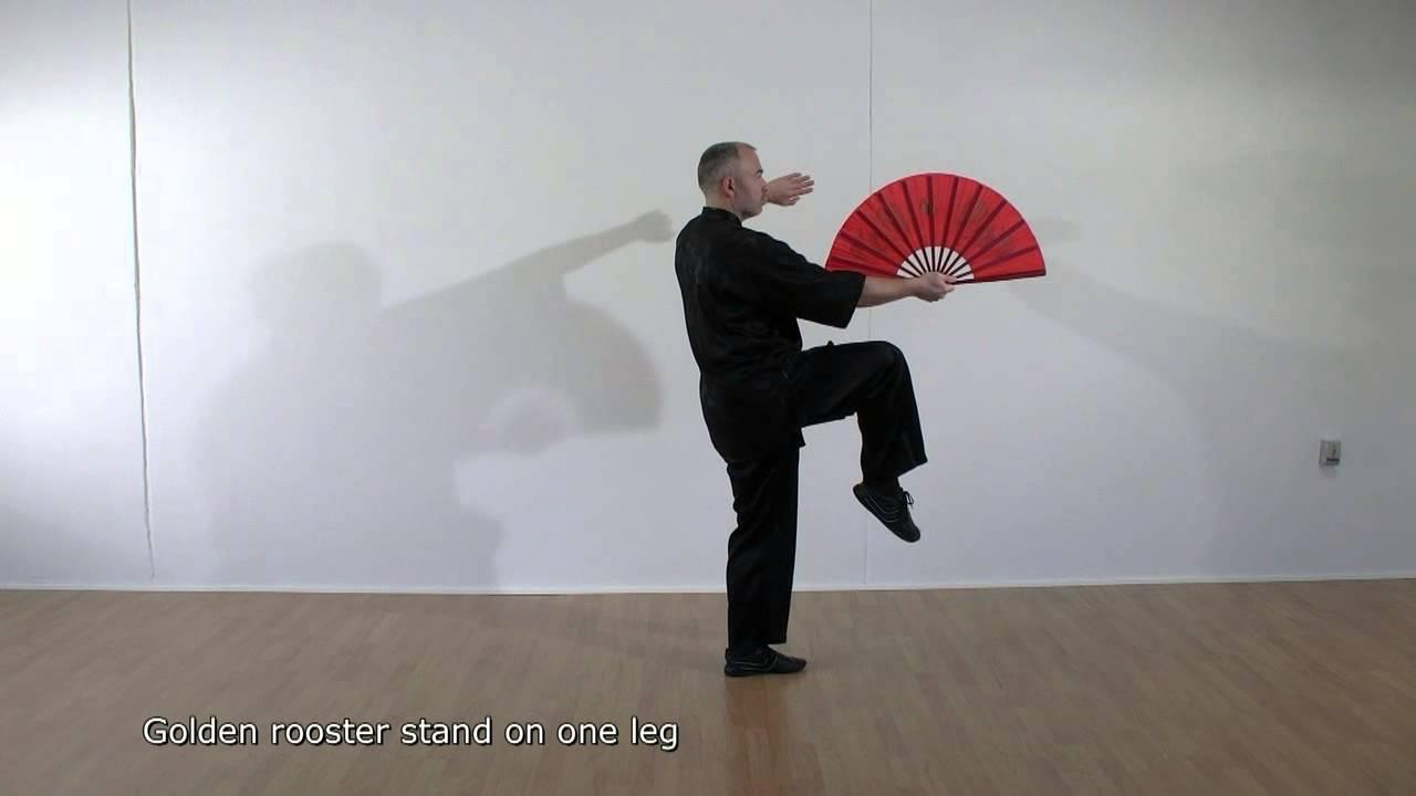 learn tai chi kung fu fan youtube. Black Bedroom Furniture Sets. Home Design Ideas