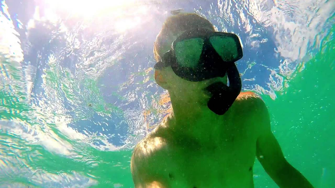 Gopro Vid Snorkeling At Kailua Beach Hawaii Oahu