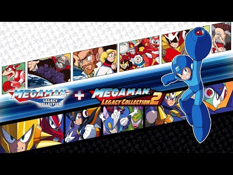 Mega Man Legacy Collection 1 + 2 Switch Announce Trailer