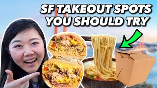 5 MUST-TRY TAKEOUT SPOTS IN SAN FRANCISCO! #SupportLocal