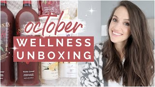OCTOBER WELLNESS UNBOXING 2019 // YOUNG LIVING ESSENTIAL REWARDS UNBOXING