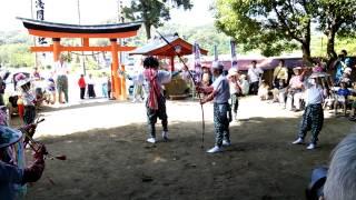 古船浅間神社の羯鼓舞は、明治以前の文政10年(1827年)頃から四...