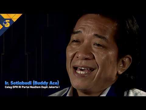 Buddy Ace Siap Berjuang untuk Ekonomi Kreatif Indonesia