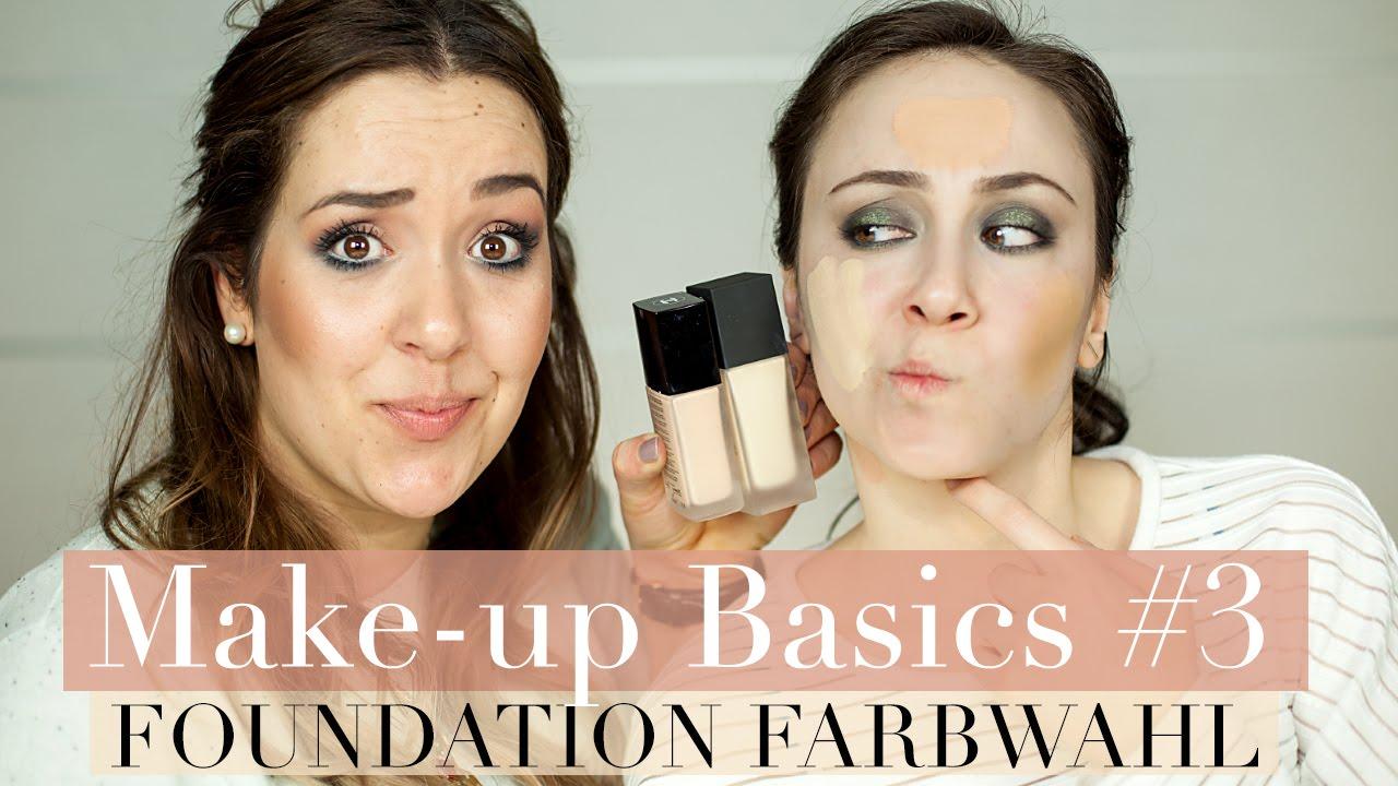 Wie Finde Ich Die Richtige Foundation Farbe I Hautunterton I Make Up