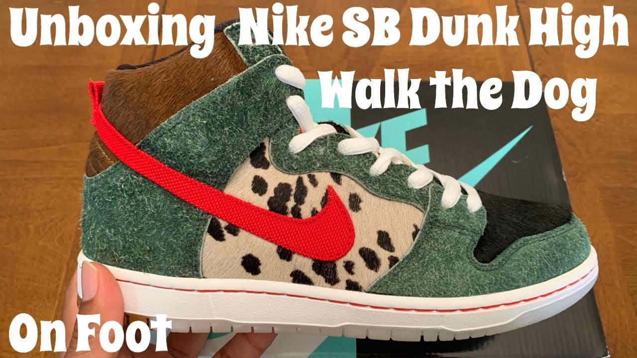 DUNK HIGH SB 'WALK THE DOG'