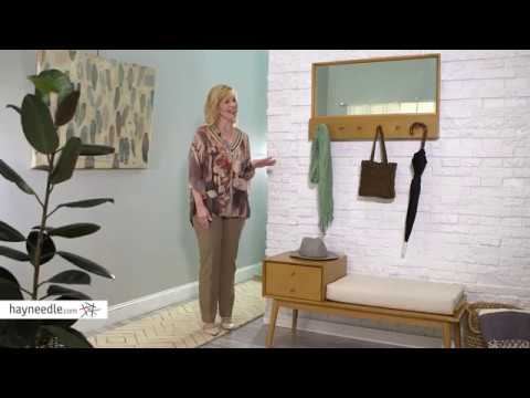 Belham Living Finn Mid Century Modern Wall Coat Rack - Product Review Video