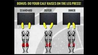 ejercicio en prensa para piernas con eva andressa-leg press exercise