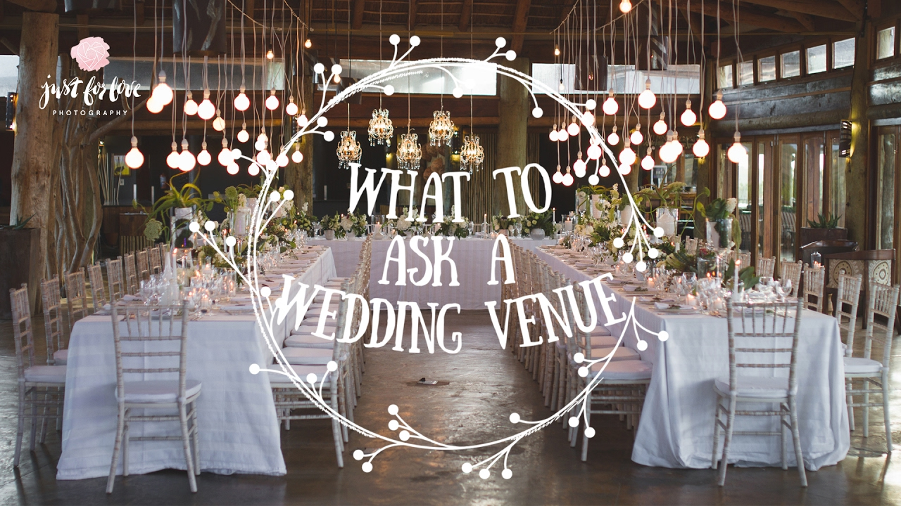 Wedding Planning: Questions To Ask A Wedding Venue