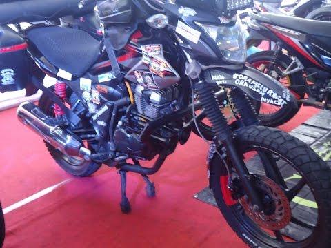 Touring Style..!!! Modifikasi Honda CB 150R, Verza dan New Megapro Adventure