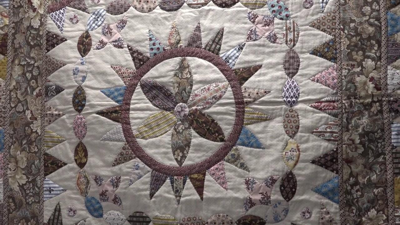 An Moonen Quilts.Petra Prins At The 2017 Pour L Amour Du Fil Show English Version
