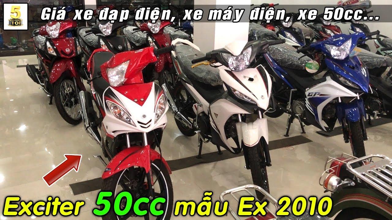 Giá xe máy điện, xe 50cc tại đại lý Minh Ngọc – Lào Cai ▶️ Exciter 50 mẫu 2010 CỰC ĐẸP🔴TOP 5 ĐAM MÊ