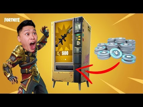 Hacking Fortnite Vending Machines (100% WORKS EVERY TIME)