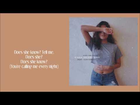 Kiana Valenciano - Does She Know (Lyrics)