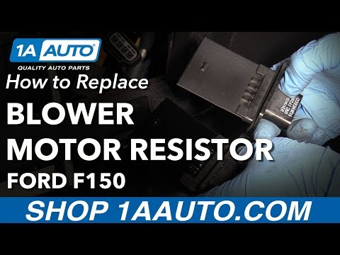 How to Replace Blower Motor Resistor 09-14 Ford F-150