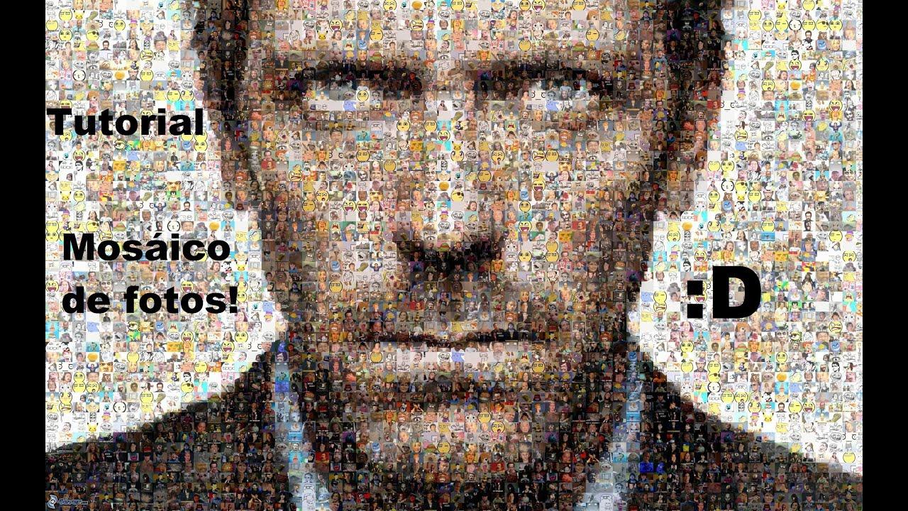 Como hacer un foto mosaico tutorial youtube - Hacer un cuadro de una foto ...
