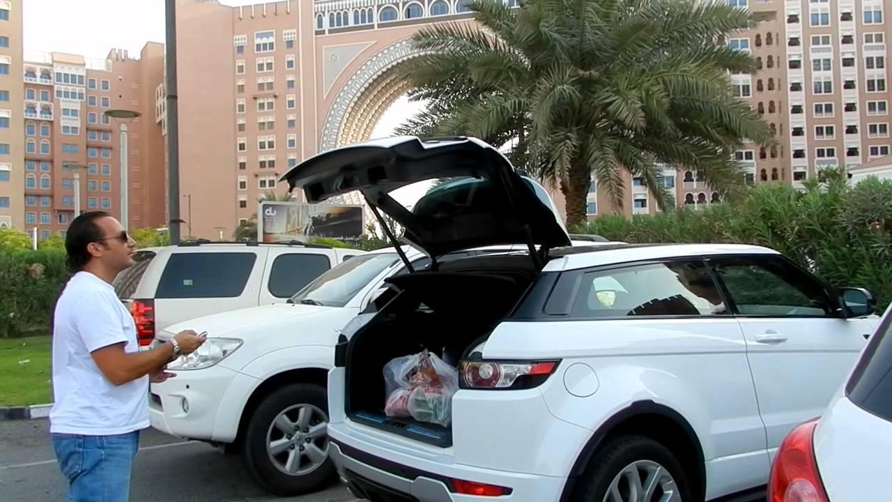 Beautiful White Range Rover Evoque In Dubai Youtube