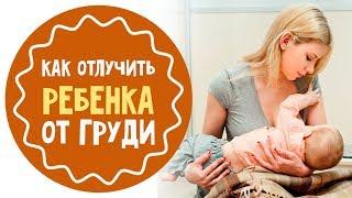 видео как отучить ребенка от грудного вскармливания