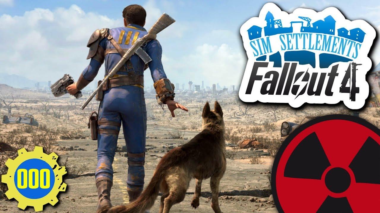 Fallout 4 Sim Settlements 000 Das Ende Einer Reise Lets