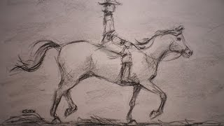 How to Draw a Horse and Rider