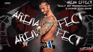 WWE [HD] : CM Punk 2nd Theme - Cult Of Personality (WWE Edit) + [Arena Effect]