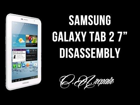 Samsung Galaxy tab 2 7 P3100 Disassembly