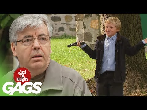 Gun Pranks | Best of Just for Laughs Gags