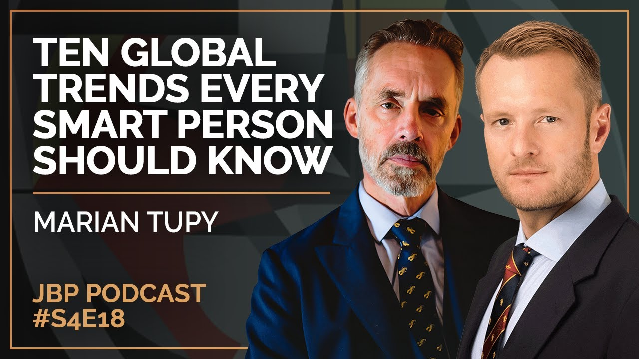 Download Ten Global Trends Every Smart Person Should Know | Marian Tupy - Jordan B Peterson Podcast S4 E18