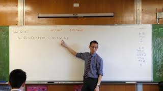 Solving a Quartic Equation with Quadratic Techniques