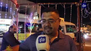 بيوت الزرقاء تستقبل شهر رمضان بالزينة والفوانيس (8-5-2019)