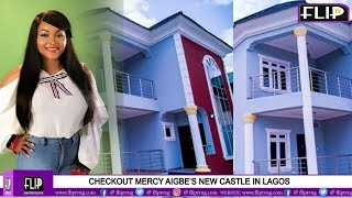 CHECKOUT MERCY AIGBE'S NEW MANSION IN LAGOS