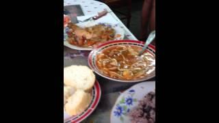 суп с курицей и рисом :)