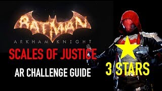 Batman Arkham Knight - Scales of Justice AR Challenge - 3 Stars - Red Hood