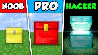 Minecraft NOOB vs PRO vs HACKER : CHEST CHALLENGE in Minecraft Animation!