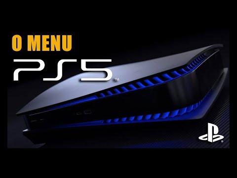 Como Funciona o MENU e INTERFACE do Playstation 5