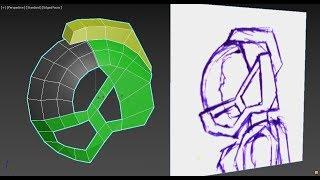 Урок 8 — Моделирование Sci-Fi шлема (часть 1)