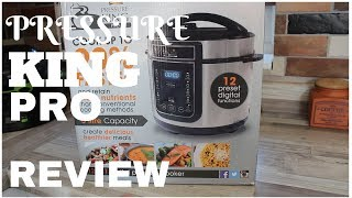 Pressure King Pro Review and Unboxing        All-In-One Pot