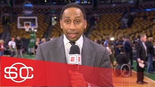 Stephen A. Smith says LeBron James 'virtually non-existent' in Game 1 loss | SportsCenter | ESPN