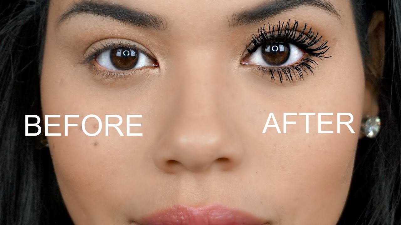 How To Get Longer Fuller Lashes Youtube