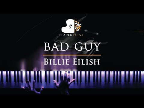 Billie Eilish - bad guy - Piano Karaoke  Sing Along Cover with
