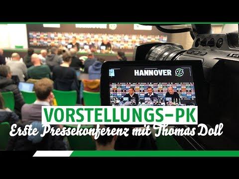 RE-LIVE: Die Vorstellungs-PK von Thomas Doll