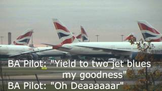 JFK Kennedy Airport Tower Funny BA 115 Pilot Conversation
