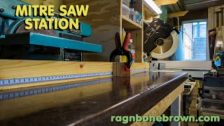 Making A Mitre Saw Station - Part 2