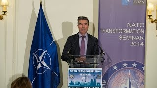 NATO Secretary General - NATO Transformation Seminar 2014, 8 April 2014