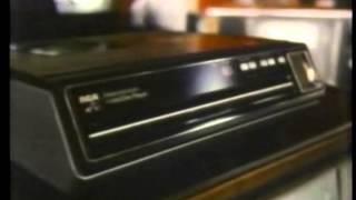 Vintage RCA SelectaVision VideoDisc Commercial