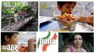 PROBAMOS COMIDA ITALIANA CON PESCADOS Y MARISCOS + BELLEZA NATURAL MONTE GELATO / A N N A L I E