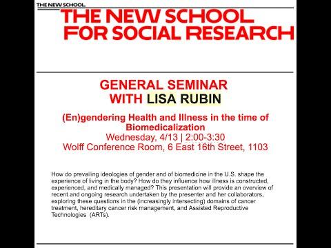 General Seminar @NSSR | Lisa Rubin