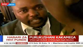 Habari za hivi sasa: Purukushani Kakamega, spika wa Bunge atimuliwa kwa nguvu