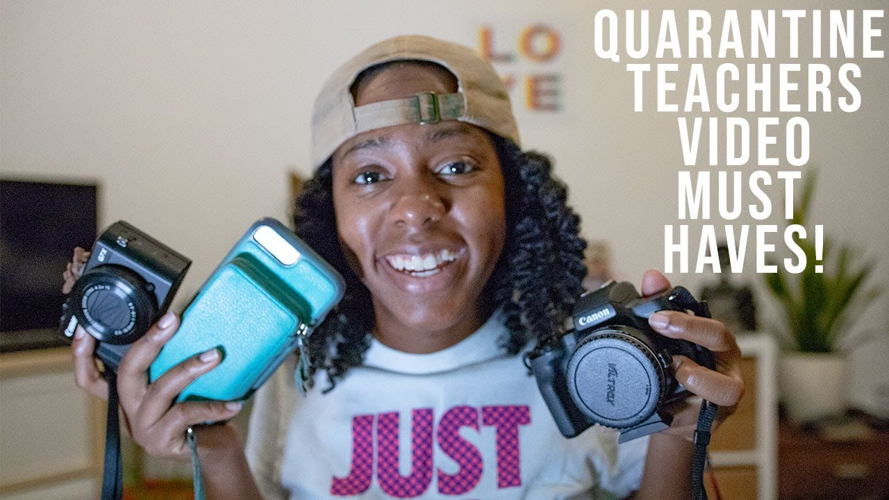 Quarantine Teachers Video Must Haves! Top 4 things you need to get for online lesson.